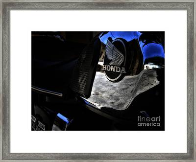 Honda Cd200 Road Master Framed Print by Stelios Kleanthous