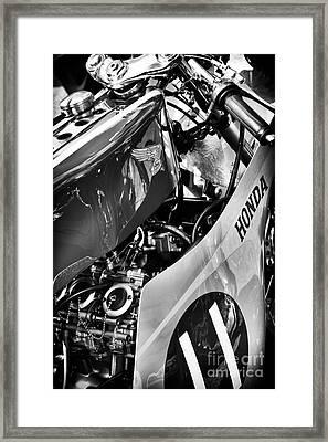 Honda Rc Framed Print by Tim Gainey