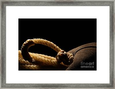 Hondo Framed Print by Olivier Le Queinec