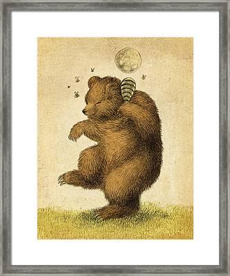 Honey Bear Framed Print by Eric Fan