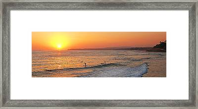 Honey Ill Be Late For Dinner Framed Print by Ron Regalado