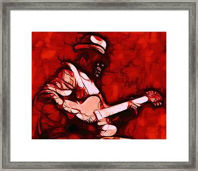 Honeyboy Framed Print by Terry Fiala