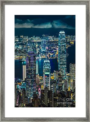 Hong Kong 07 Framed Print by Tom Uhlenberg