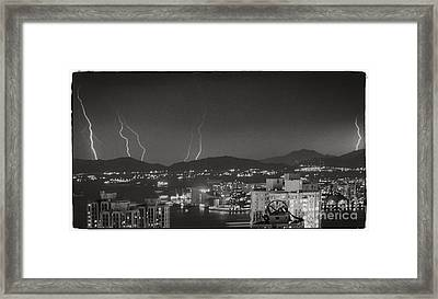 Hong Kong 1987 Framed Print by Bob Hislop