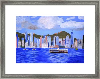 Hong Kong Framed Print by Magdalena Frohnsdorff