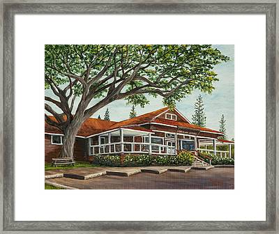 Honolua Store Framed Print by Darice Machel McGuire
