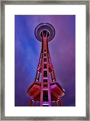 Honoring The Dawgfather Framed Print by Benjamin Yeager