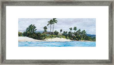 Honu's View Framed Print by Stacy Vosberg