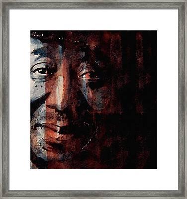 Hoochie Coochie Man Framed Print by Paul Lovering