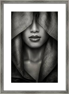 Hood Framed Print by Azalaka