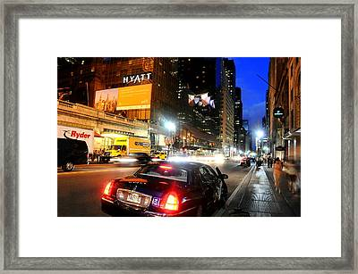 The Hook Framed Print by Diana Angstadt