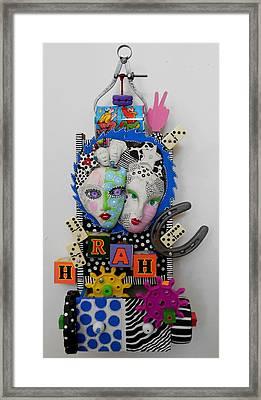 Hoorah For Everything Framed Print by Keri Joy Colestock