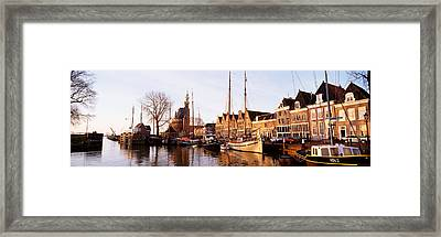 Hoorn, Holland, Netherlands Framed Print by Panoramic Images