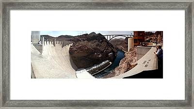 Hoover Dam 1 Framed Print by Russell Smidt