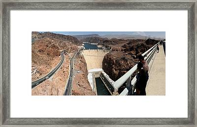 Hoover Dam II Framed Print by Russell Smidt