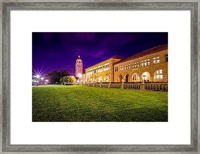 Hoover Tower Stanford University Framed Print by Scott McGuire