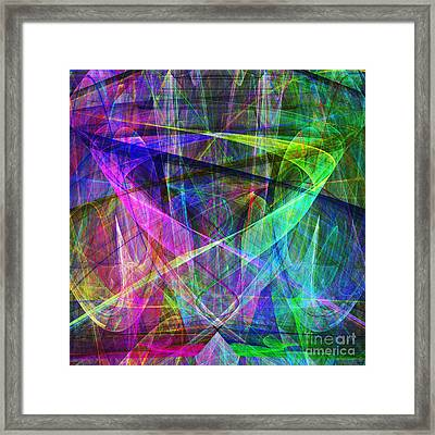 Hope 20130511 Square Framed Print by Wingsdomain Art and Photography