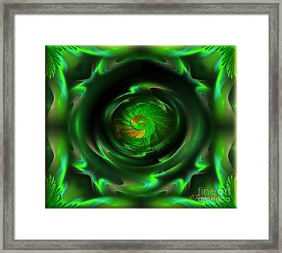 Hope - Abstract Optimistic Art By Giada Rossi Framed Print by Giada Rossi
