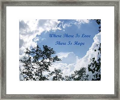 Hope Framed Print by Aimee L Maher Photography and Art Visit ALMGallerydotcom