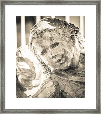 Hope Behind Bars Framed Print by Richard Brown