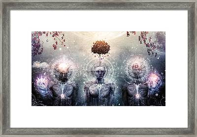 Hope For The Sound Awakening Framed Print by Cameron Gray