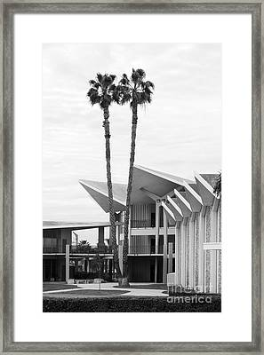 Hope International University Center Core Framed Print by University Icons