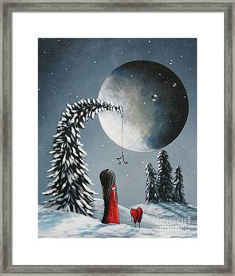 Hope Is On Her Way By Shawna Erback Framed Print by Shawna Erback