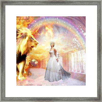 Hope Of Glory Framed Print by Dolores Develde