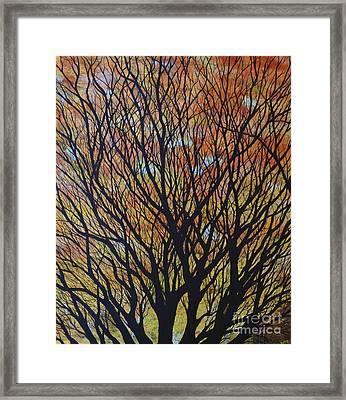 Hope Reaches Framed Print by Lori Kallay