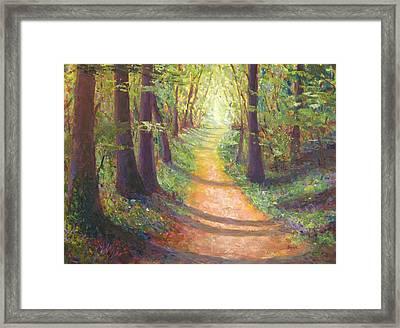 Hope - Path To Tomorrow Framed Print by Robie Benve