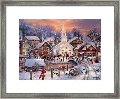 Hope Runs Deep Framed Print by Chuck Pinson