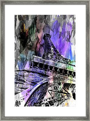 Hopeless Romantic Framed Print by Az Jackson