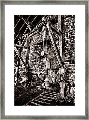 Hopewell Furnace Framed Print by Olivier Le Queinec