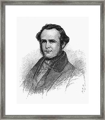 Horace Wells (1815-1848) Framed Print by Granger