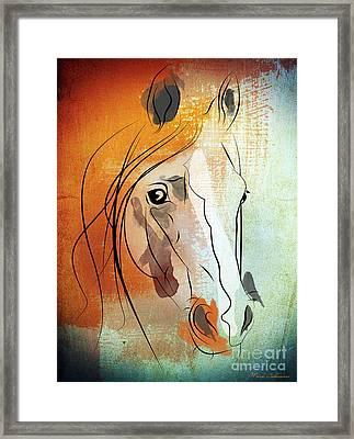 Horse 3 Framed Print by Mark Ashkenazi