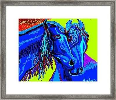 Horse-7 Framed Print by Anand Swaroop Manchiraju