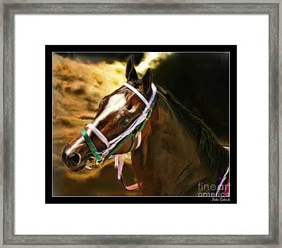 Horse Last Memories Framed Print by Blake Richards