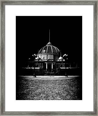 Horticultural Building Exhibition Place Toronto Canada Framed Print by Brian Carson