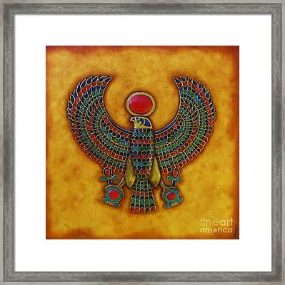 Horus Framed Print by Joseph Sonday