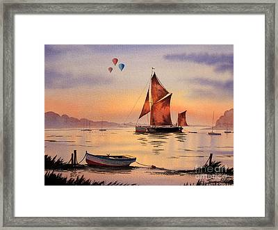 Hot Air Ballooning Framed Print by Bill Holkham