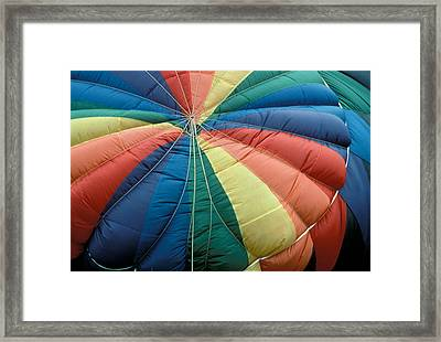 Hot Air Balloons Framed Print by Gail Maloney
