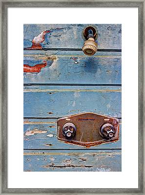 Hot And Cold Framed Print by Heidi Smith