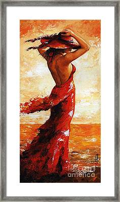 Hot Breeze # 5 Framed Print by Emerico Imre Toth