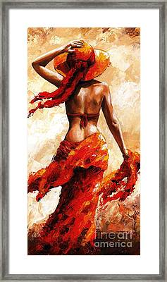 Hot Breeze #02 Framed Print by Emerico Imre Toth
