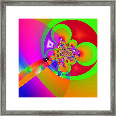 Hot Crush 3 Framed Print by Wendy J St Christopher