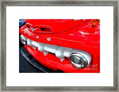 Hot Ford Framed Print by Olivier Le Queinec