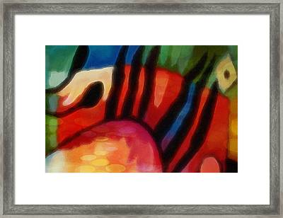 Hot Formation Framed Print by Lutz Baar
