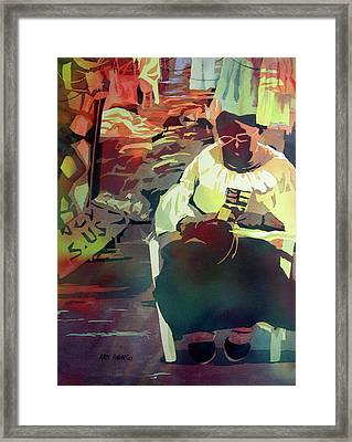 Hot Market Framed Print by Kris Parins