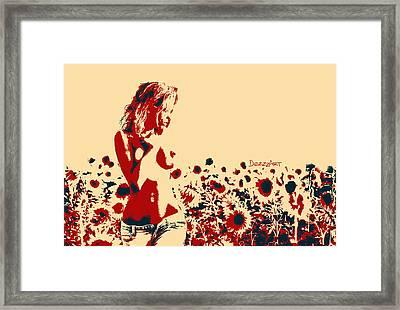 Hot Midday Framed Print by Denis Galkin