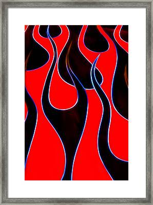 Hot Rods Flames Framed Print by Phil 'motography' Clark